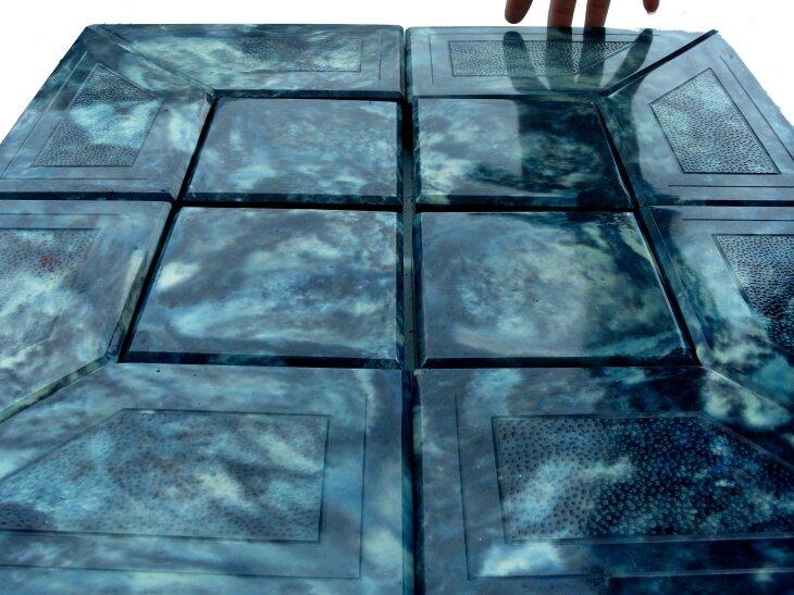 Изготовление искусственного мрамора из бетона