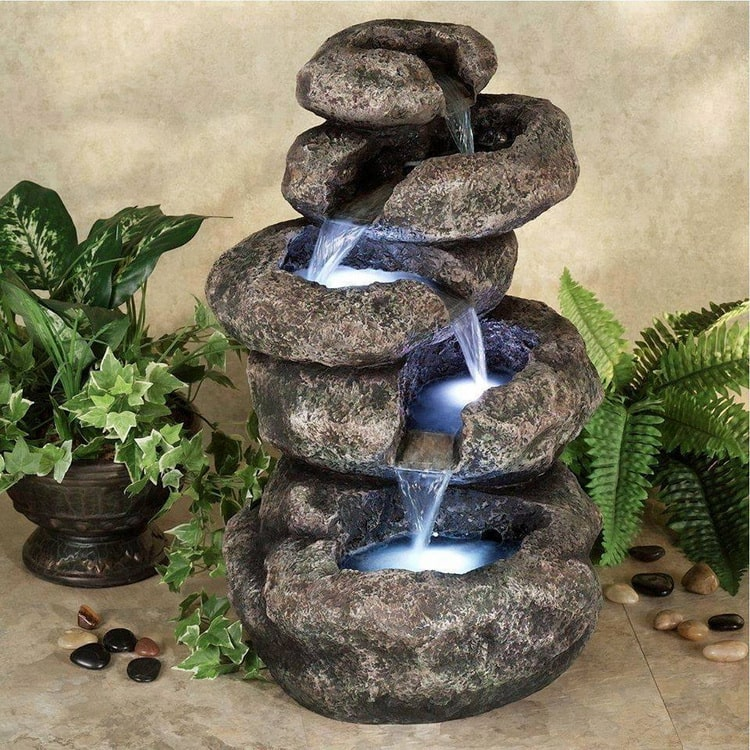 Изготовление комнатных фонтанов