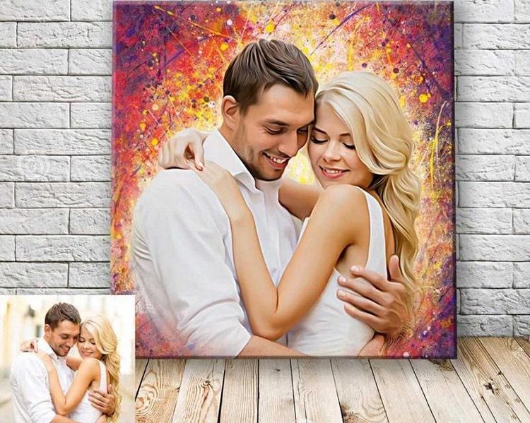 Печать изображений на бумаге создание портретов по фото